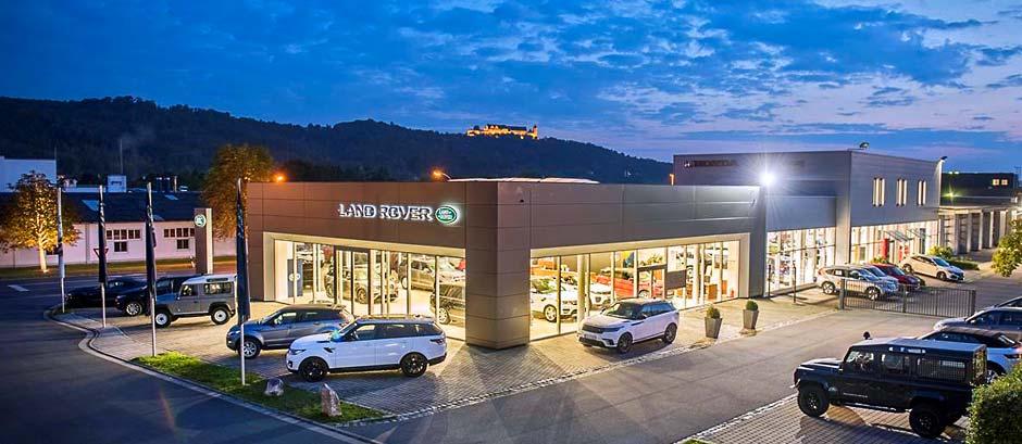 Autohaus Land Rover Coburg mit Feste