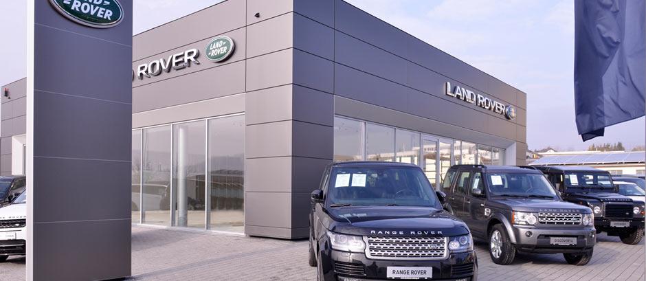 Gebäude Land Rover Coburg
