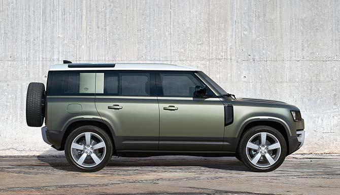 Unsere Land Rover Defender Neuwagen