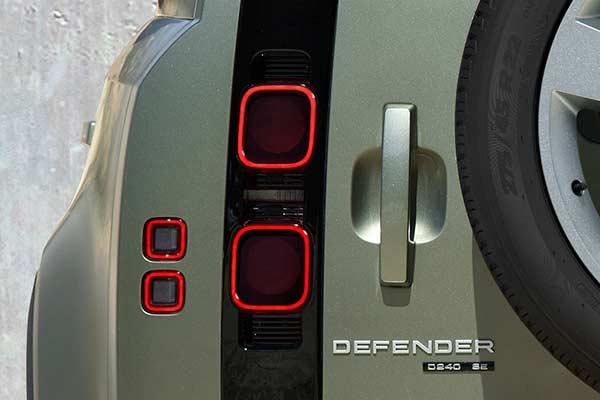 Land Rover Defender Heckansicht Detail