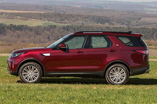 Land Rover Discovery Seitenansicht