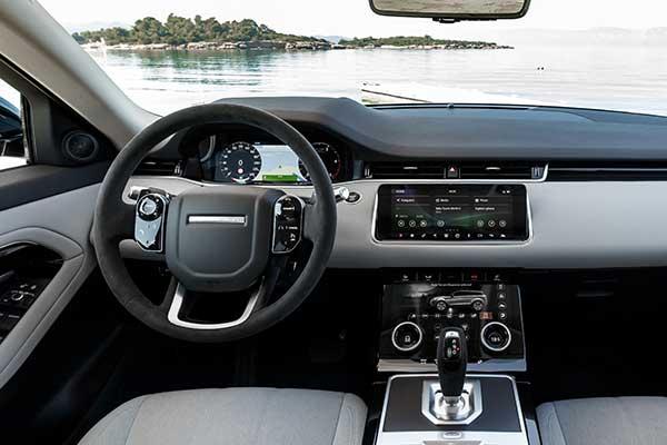 Range Rover Evoque Cockpit