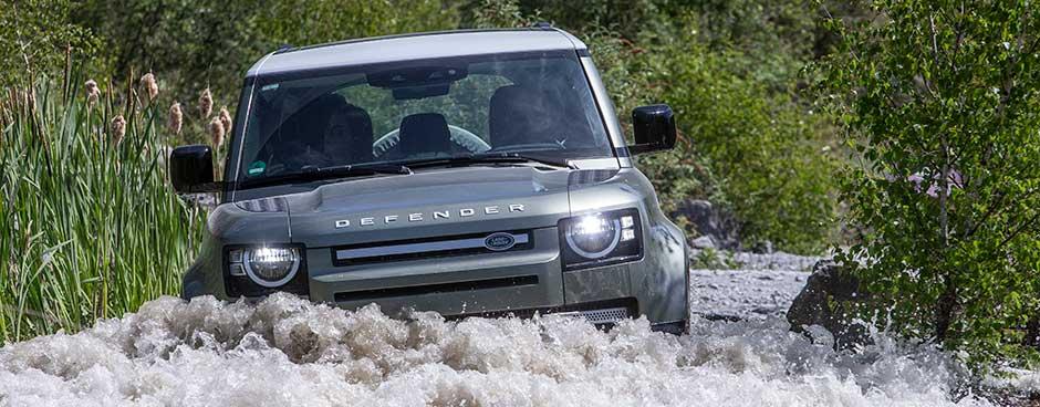Land Rover Defender Outdoor-Foto frontal