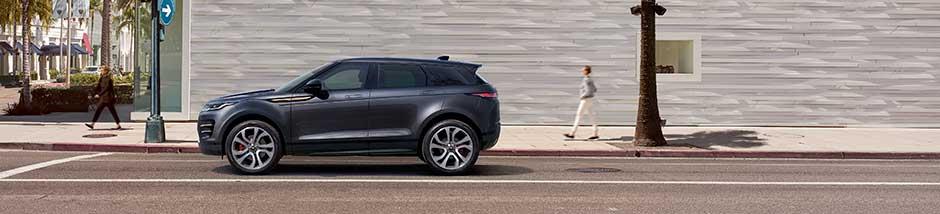 Range Rover Evoque Outdoor-Foto seitlich