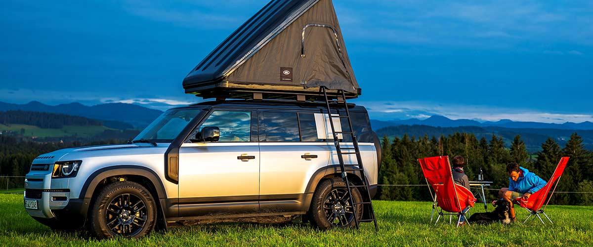 Rent Land Rover Coburg – Defender Globetrotter