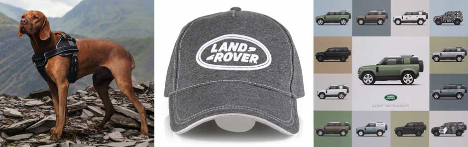 Land Rover Shop Fanartikel